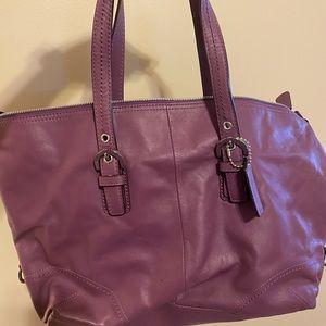 Like new Coach leather bag